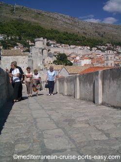 dubrovnik wall photographs, dubrovnik pics