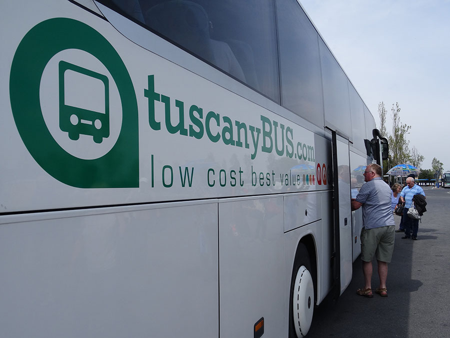 tuscany bus livorno to florence