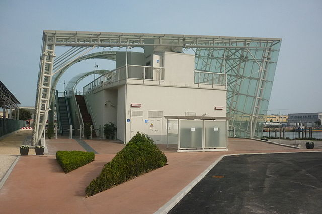 Tronchetto people mover station