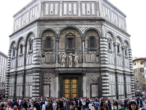 florence baptistery photo, gate of the paradise image