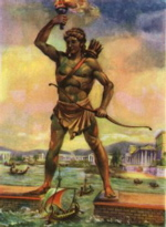 colossus of rhodes image, colossus of rhodes picture, wonders of the world image