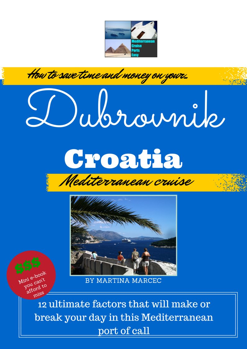 dubrovnik travel guide for cruisers