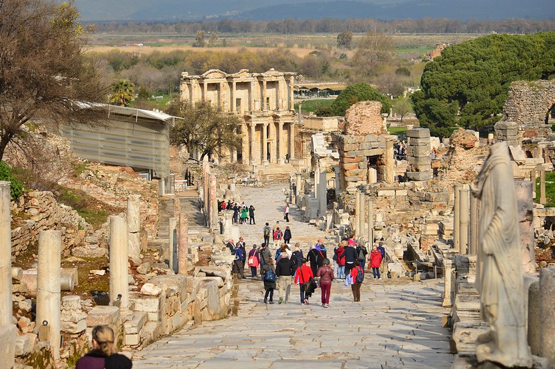 Ephesus Arcadian way image, Ephesus Arcadian way photo, Ephesus Arcadian way picture