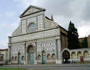florence santa maria novella basilica photo