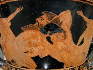 mykonos history, mykonos myths, hercules and giants