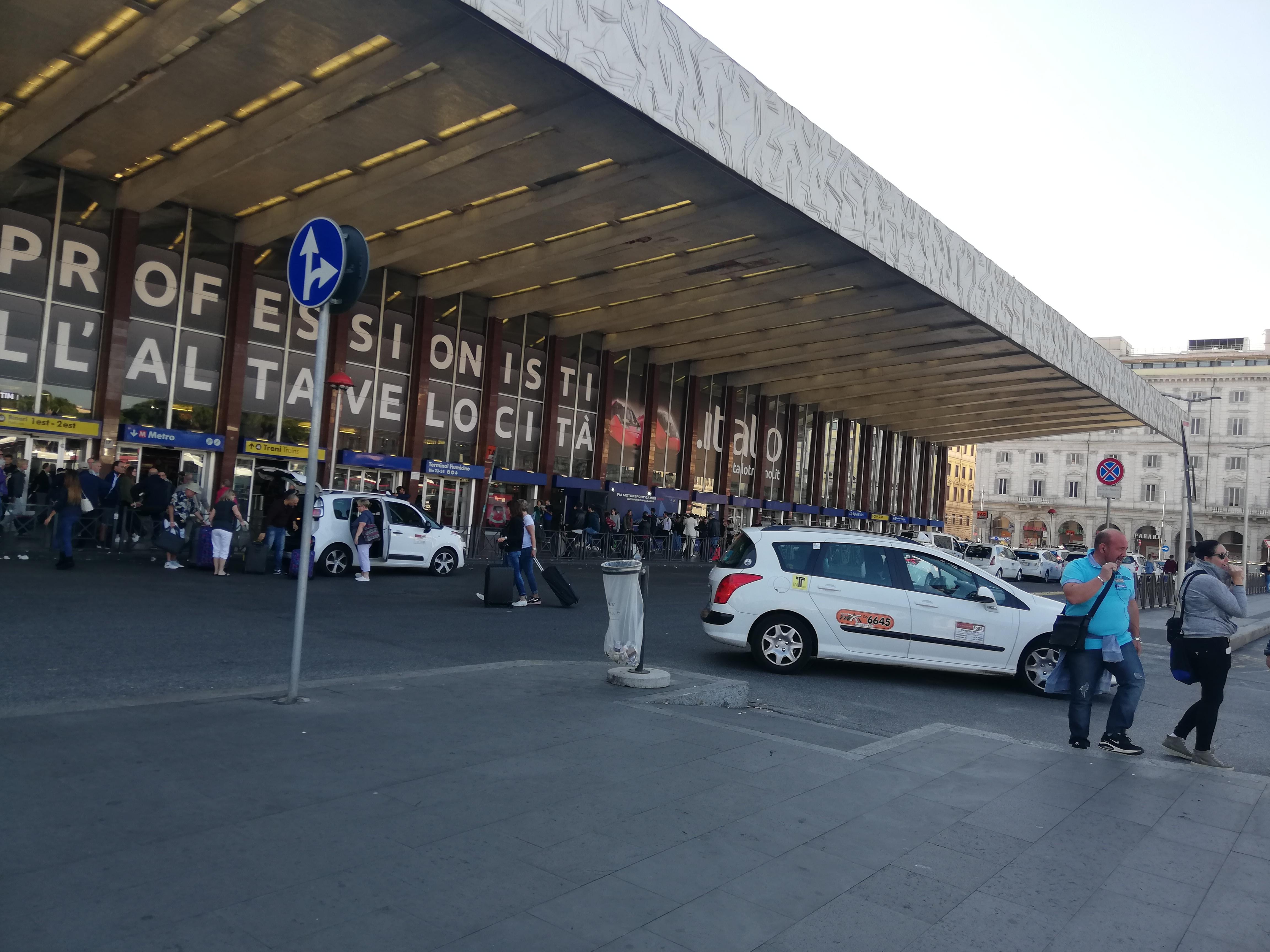 Stazione Termini Roma Italia