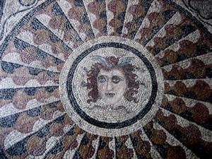 rhodes palace mosaic, grand masters palace rodos