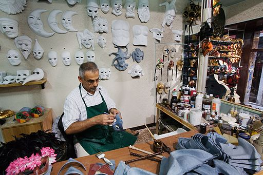 venice mask workshop