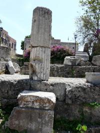 rhodes aphrodite temple image, rhodi, rodos
