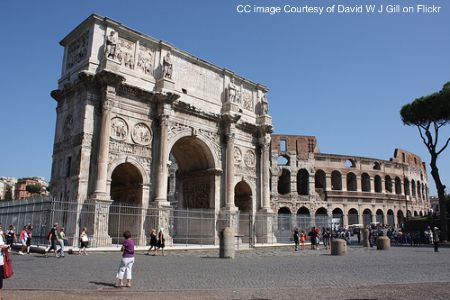 rome colosseum, rome arch of constantine, rome attractions photos, rome images, rome pictures