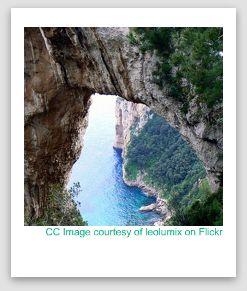 arco naturale photo, natural arch capri