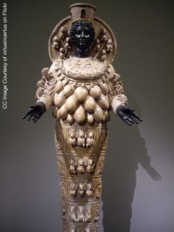 artemis of ephesus, image of artemis, photo of artemis statue