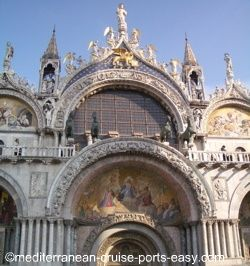 basilica di san marco photo, saint mark's basilica image, venice italy photos, venice pictures