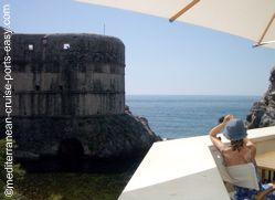 dubrovnik bokar tower, dubrovnik walls