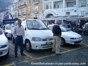capri taxi photo, capri taxi images