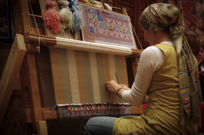 rug maker, rug weaver, carpet weaver