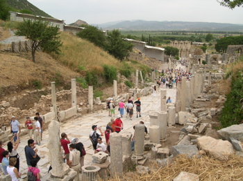 ephesus ruins, ephesus turkey, ephesus selcuk