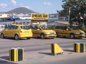 kusadasi taxi, taxi from kusadasi to ephesus