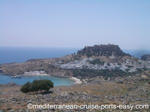 lindos rhodes image, lindos town photo, lindos greece photos