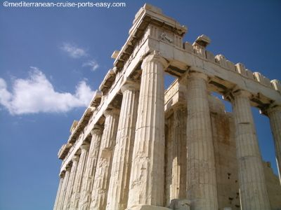 parthenon temple, parthenon in athens pictures