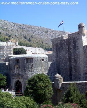 pile gate dubrovnik, dubrovnik walls, dubrovnik old town