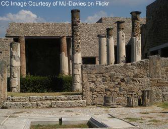 pompeii temple image, pompeii temples photo