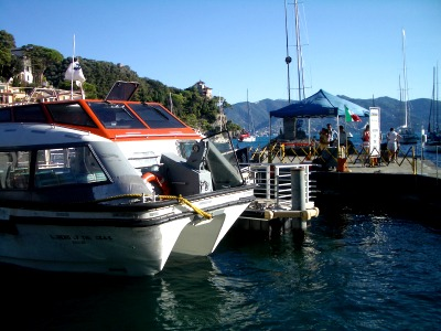 portofino cruise ship tender station