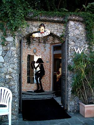 Portofino port public toilet