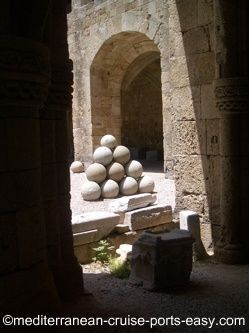 museum of archaeology rhodes, rodos photo, rodos picture