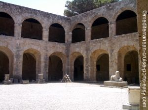 archaeological museum rhodes, picture of rhodes greece