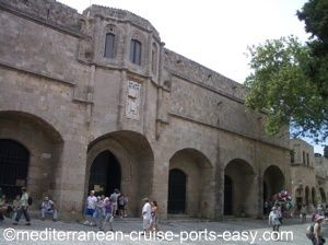 rhodes archaeological museum, rhodes museums, rhodes attractions