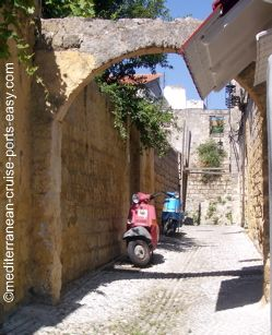old town of rhodes photos