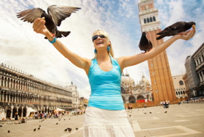 san marco, st. mark's square, san marco pigeons