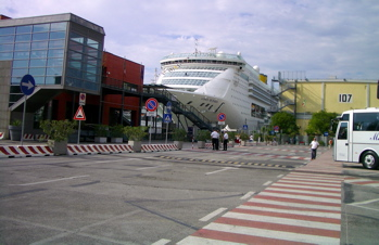 stazione marittima venice, port of venice, venice cruise terminal