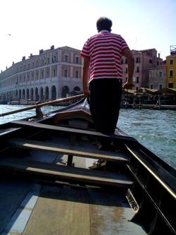 traghetti venice, venice gondolier