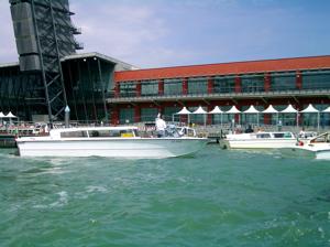 water taxi venice, stazione marittima, cruise terminal venice