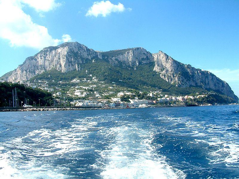 Capri Island by hydrofoil