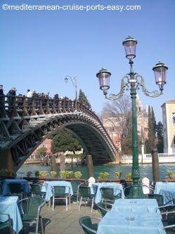 accademia bridge vanice photo, ponte accademia venezia
