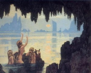 mermaids, capri sirens, capri legends