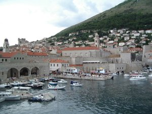 dubrovnik old town port, dubrovnik tendering, how to get downtown dubrovnik