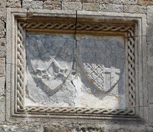 rhodes knights insignia, rodos photo, rhodos image