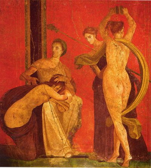 villa dei misteri photo, villa of the mysteries frescoes, villa of the mysteries image