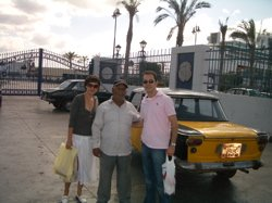 alexandria taxi image, alexandria transport, alexandria taxi fees