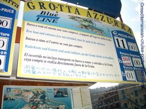 blue grotto cost, grotta azzura photo