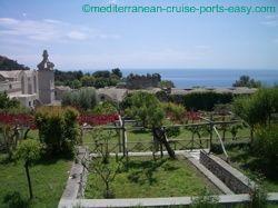 capri garden, capri attractions, capri town