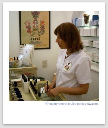 carthusia perfume, cartusia capri image