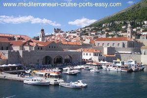 dubrovnik tendering, dubrovnik old port, dubrovnik old town