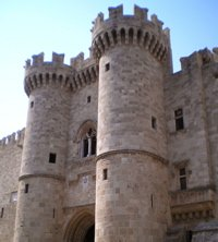 rhodes palace of the grand master photo, rhodes palace