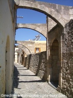 rodos architecture of st. john's time