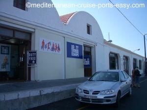 rhodes pier, rhodes dock, rhodes cruise terminal